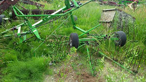 Stoll Rake for salvage parts